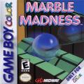 Marble Madness Game Boy Color Front Cover