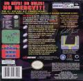 NFL Blitz Game Boy Color Back Cover