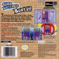 Super Bust-A-Move Game Boy Advance Back Cover