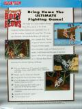 Ultimate Body Blows DOS Back Cover