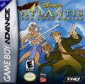 Disney's Atlantis: The Lost Empire Game Boy Advance Front Cover