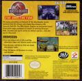 Jurassic Park III: The DNA Factor Game Boy Advance Back Cover
