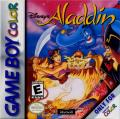 Disney's Aladdin Game Boy Color Front Cover