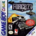 Force 21 Game Boy Color Front Cover