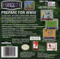 Force 21 Game Boy Color Back Cover