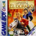 Gold and Glory: The Road to El Dorado Game Boy Color Front Cover