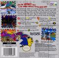 Wacky Races Game Boy Color Back Cover
