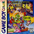 Game & Watch Gallery 2 Game Boy Color Front Cover