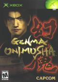 Genma Onimusha Xbox Front Cover