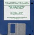 """Escape from the Planet of the Robot Monsters DOS Media 3.5"""" Disk"""