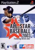 All-Star Baseball 2003 PlayStation 2 Front Cover