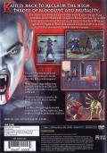 The Legacy of Kain Series: Blood Omen 2 PlayStation 2 Back Cover