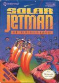 Solar Jetman: Hunt for the Golden Warpship NES Front Cover