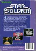 Star Soldier NES Back Cover