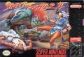 Street Fighter II SNES Front Cover