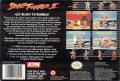 Street Fighter II SNES Back Cover