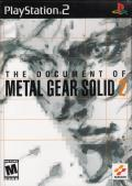 The Document of Metal Gear Solid 2 PlayStation 2 Front Cover