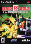 Eighteen Wheeler: American Pro Trucker PlayStation 2 Front Cover