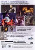 Extermination PlayStation 2 Back Cover