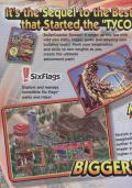 RollerCoaster Tycoon 2 Windows Inside Cover Left Flap