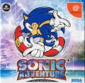 Sonic Adventure Dreamcast Front Cover