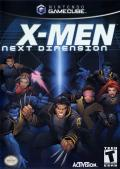 X-Men: Next Dimension GameCube Front Cover