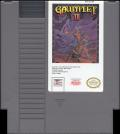 Gauntlet II NES Media Cartridge