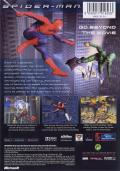 Spider-Man: The Movie Xbox Back Cover