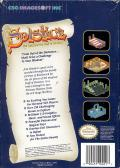 Solstice: The Quest for the Staff of Demnos NES Back Cover