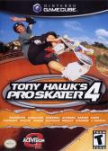 Tony Hawk's Pro Skater 4 GameCube Front Cover