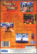 Battle Arena Toshinden Remix SEGA Saturn Back Cover
