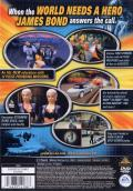 007: Agent Under Fire PlayStation 2 Back Cover