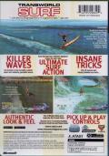 TransWorld SURF Xbox Back Cover