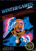 Winter Games NES Front Cover