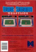 Tag Team Wrestling NES Back Cover
