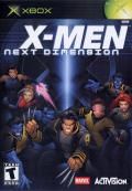 X-Men: Next Dimension Xbox Front Cover