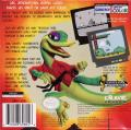 Gex: Enter the Gecko Game Boy Color Back Cover