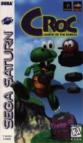 Croc: Legend of the Gobbos SEGA Saturn Front Cover