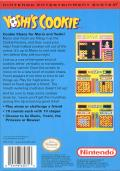 Yoshi's Cookie NES Back Cover