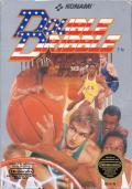 Double Dribble NES Front Cover