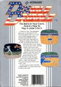Double Dribble NES Back Cover