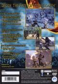 The Lord of the Rings: The Two Towers PlayStation 2 Back Cover