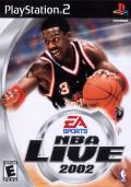 NBA Live 2002 PlayStation 2 Front Cover