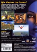 The Operative: No One Lives Forever PlayStation 2 Back Cover