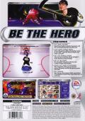 NHL 2002 PlayStation 2 Back Cover
