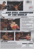 Knockout Kings 2002 Xbox Back Cover
