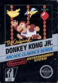 Donkey Kong Junior NES Front Cover