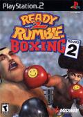 Ready 2 Rumble Boxing: Round 2 PlayStation 2 Front Cover