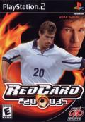 RedCard 20-03 PlayStation 2 Front Cover
