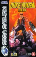 Duke Nukem 3D SEGA Saturn Front Cover